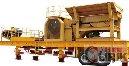 Mobile Jaw Crusher Plant,Mobile Crushing Plant
