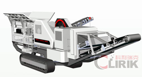 Hydraulic Driven Track Mobile Crusher Plant
