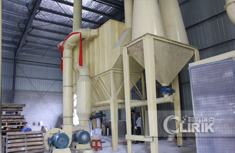 South Africa Calcite carbonate crushing plant
