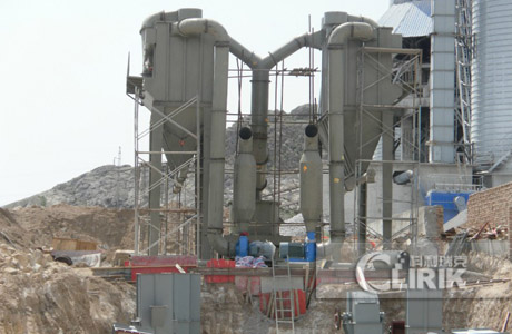 Calcium Carbonate Crushing Plant